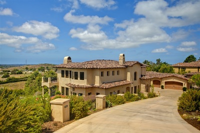 Rancho Santa Fe Single Family Home For Sale: 7258 Camino De Arriba