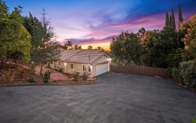 La Mesa Single Family Home For Sale: 9479 La Cuesta