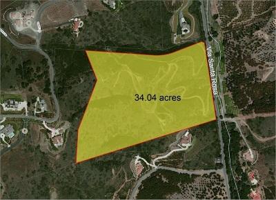Murrieta, Temecula Residential Lots & Land For Sale: 2 Via Santa Rosa #Lot 3