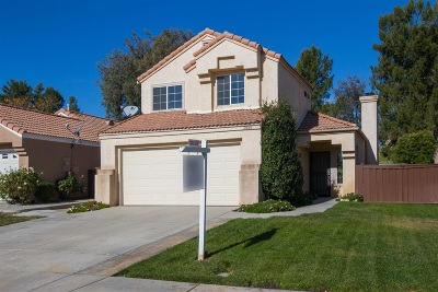 Temecula Single Family Home For Sale: 31895 Calle Novelda