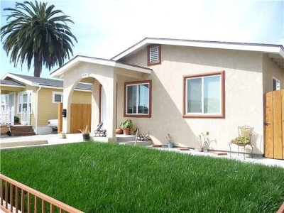 Normal Heights Single Family Home For Sale: 4526 38th Street