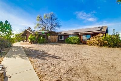 Ramona CA Single Family Home For Sale: $769,900