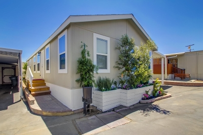 San Marcos Mobile/Manufactured For Sale: 1515 Capalina Road #57