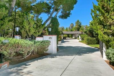 Rancho Santa Fe Single Family Home For Sale: 4810 La Jacaranda