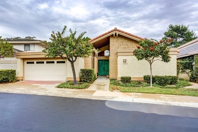 La Jolla Single Family Home For Sale: 2646 Caminito Tom Morris