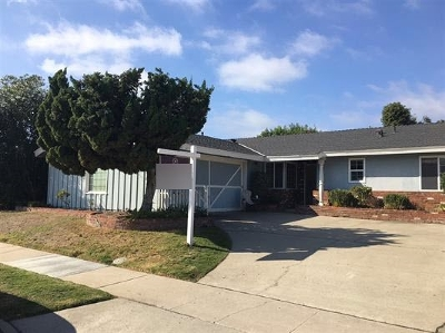 San Diego Single Family Home For Sale: 2704 Nansen Avenue