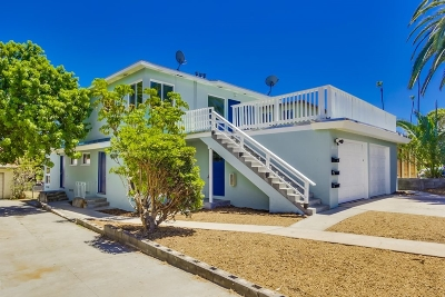 Multi Family 2-4 For Sale: 4960-62 W Point Loma Boulevard