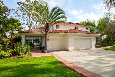 Encinitas CA Single Family Home For Sale: $1,799,000