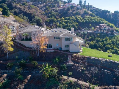 Fallbrook Single Family Home For Sale: 3335 Red Mountain Heights Rd