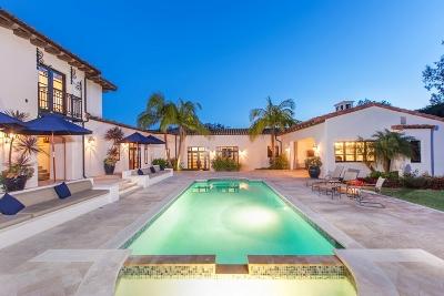 Rancho Santa Fe Single Family Home For Sale: 15739 El Camino Real