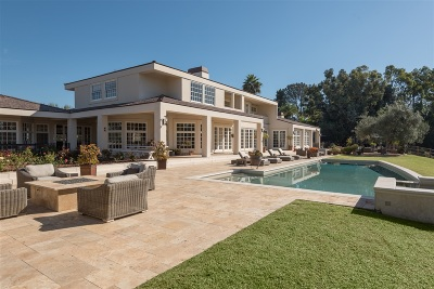Rancho Santa Fe Single Family Home For Sale: 17309 Via De Fortuna