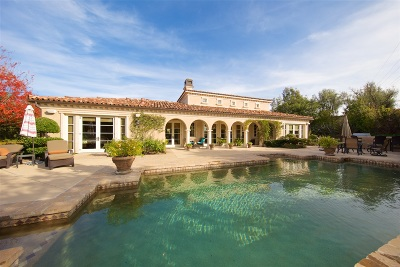 Rancho Santa Fe Single Family Home For Sale: 18662 Via Varese