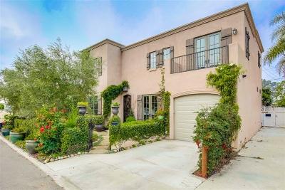 La Jolla Single Family Home For Sale: 604 Gravilla Place