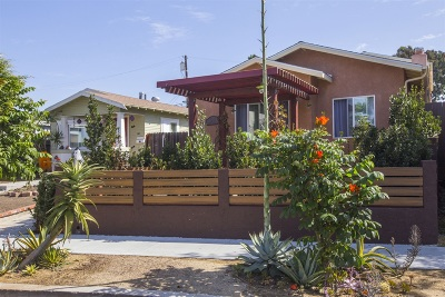 Normal Heights Single Family Home For Sale: 4553 35th St