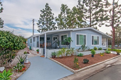 San Diego County Mobile/Manufactured For Sale: 276 N El Camino Real #11