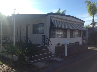 San Diego County Mobile/Manufactured For Sale: 1225 Oceanside Blvd. #206