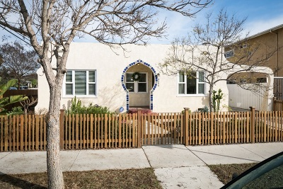 Norma Heights, Normal Heights Single Family Home For Sale: 4595 33rd Street