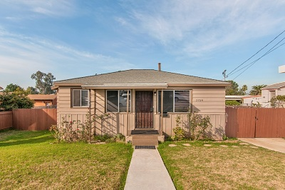 Single Family Home For Sale: 2754 Preece St