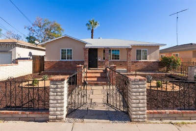 Escondido Single Family Home For Sale: 634 Erica St