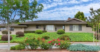 Rancho Santa Fe Single Family Home For Sale: 6127 Paseo Delicias