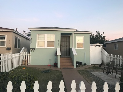 San Diego Multi Family 2-4 For Sale: 3225-3227 38th St