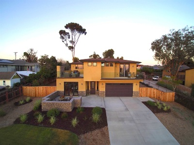 Encinitas CA Single Family Home For Sale: $1,687,000