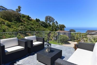 La Jolla Single Family Home For Sale: 784 La Canada Street