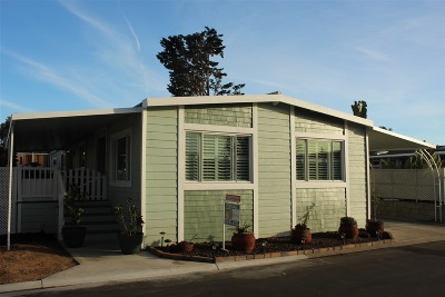 Carlsbad Mobile/Manufactured For Sale: 7222 San Lucas #187