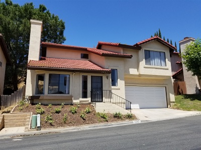 Escondido Single Family Home For Sale: 1447 Timber Glen