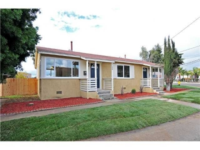 Linda Vista Multi Family 2-4 For Sale: 7156-7158 E Hyatt St