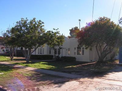 Chula Vista Single Family Home For Sale: 268 I Street