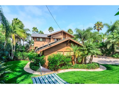 Encinitas Single Family Home For Sale: 714 Passiflora Ave