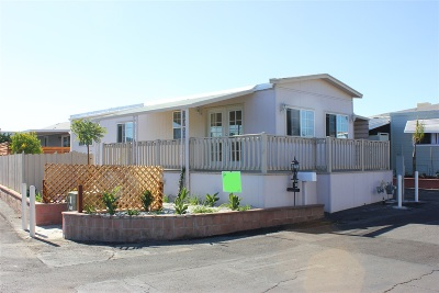 San Marcos Mobile/Manufactured For Sale: 1515 Capalina Rd #31