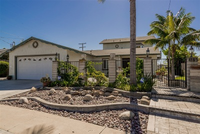 Clairemont Single Family Home For Sale: 4185 Galt Street