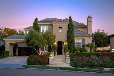 Carlsbad Single Family Home For Sale: 7079 Heron Cir