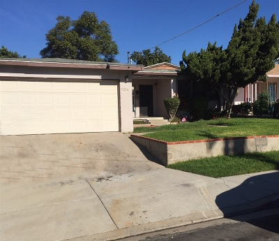 San Diego Single Family Home For Sale: Solola Ave.