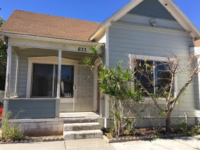 Single Family Home For Sale: 633 N N Grape St