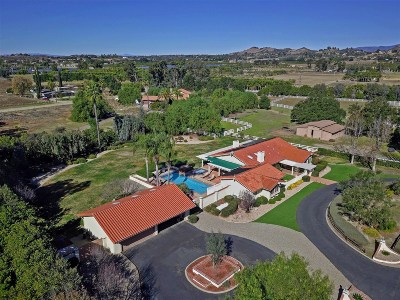 San Diego County Single Family Home For Sale: 28240 Queensbridge Rd
