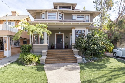 Banker's Hill Single Family Home For Sale: 3315 2nd Ave