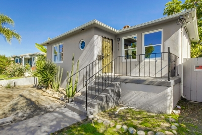 North Park, North Park - San Diego, North Park Bordering South Park, North Park, Kenningston, North Park/City Heights Single Family Home For Sale: 4051 34th St