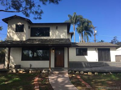 San Diego Single Family Home For Sale: 3631 Hyacinth Dr