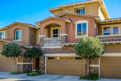 Carlsbad Townhouse For Sale: 6940 Tourmaline Place