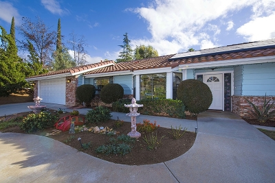 Escondido Single Family Home For Sale: 2615 Emerald Place