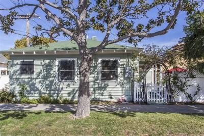 Coronado Single Family Home For Sale: 1215 10th Street