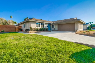 Single Family Home For Sale: 6099 Scripps St