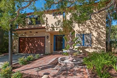Talmadge, Talmadge/College Area Single Family Home For Sale: 4710 Norma Drive
