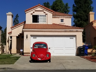 Chula Vista Single Family Home Contingent: 2137 Waterside Dr