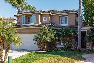 Single Family Home For Sale: 7922 Vista Palma