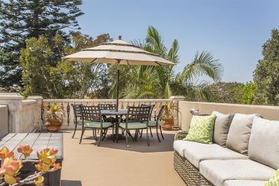Coronado Single Family Home For Sale: 1051 Pine