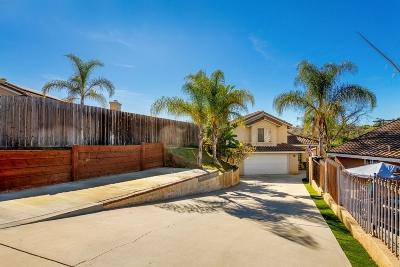 Vista Single Family Home For Sale: 554 Hildale Cir